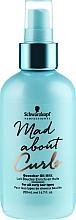 Perfumería y cosmética Leche en aceite hidratante para cabello fino a grueso con rizos con protección térmica - Schwarzkopf Professional Mad About Curls Quencher Oil Milk