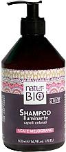 Perfumería y cosmética Champú iluminador para cabello con acai & granada - Renee Blanche Natur Green Bio Illuminante Shampoo