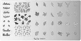 Perfumería y cosmética Placa de estampado de uñas - Peggy Sage Stamping Plate (1ud)