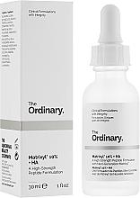 Perfumería y cosmética Sérum facial con péptidos y ácido hialurónico - The Ordinary Matrixyl 10% + HA