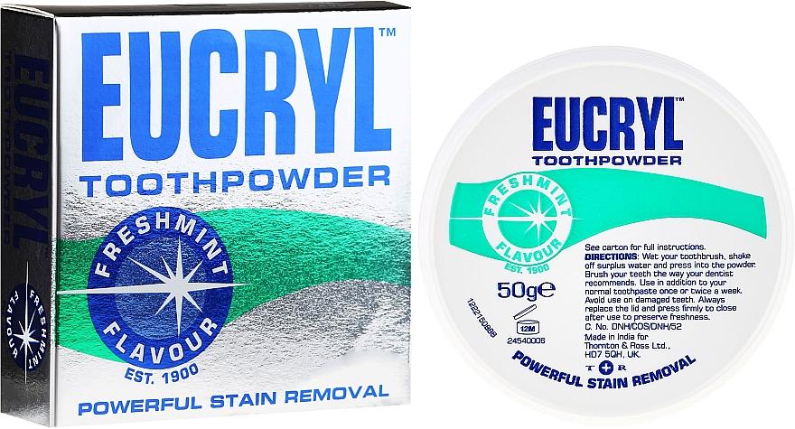 Polvo dental - Eucryl Toothpowder Freshmint