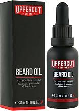 Perfumería y cosmética Aceite de barba con aroma a pachulí - Uppercut Deluxe Beard Oil