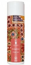 Perfumería y cosmética Champú para cabello rojo teñido con extracto de henna - Bioturm Shampoo Color Nr.108