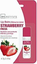 Perfumería y cosmética Bálsamo labial hidratante con sabor a fresa - IDC Institute Lip Balm Strawberry