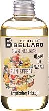 Perfumería y cosmética Aceite de masaje corporal con pomelo, piña y acai - Fergio Bellaro Massage Oil