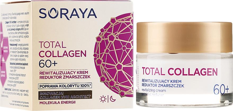 Crema revitalizante antiarrugas con complejo de colágeno 60+ - Soraya Total Collagen 60+