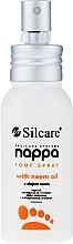 Perfumería y cosmética Spray para pies con aceite de neem, soja y eucalipto - Silcare Nappa Foot Liquid with Neem Oil