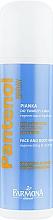 Perfumería y cosmética Espuma para rostro y cuerpo con 10% D-pantenol, aloe y alantoína - Farmona Panthenol Face and Body Foam in Spray Sunburns