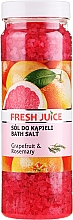Perfumería y cosmética Sales de baño con extracto de pomelo & aceite de romero - Fresh Juice Grapefruit and Rosemary