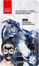 Perfumería y cosmética Mascarilla facial con carbón activo sin parabenos - Czyste Piekno Peel Off Mask