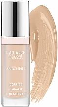 Perfumería y cosmética Corrector contorno de ojos líquido hidratante - Bourjois Radiance Reveal Concealer