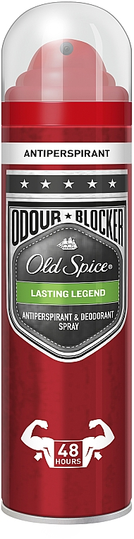 Desodorante spray antitranspirante - Old Spice Lasting Legend Dezodorant Spray