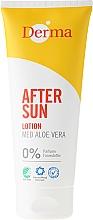 Perfumería y cosmética Loción after sun con extracto de aloe vera - Derma After Sun Lotion Med Aloe Vera
