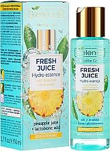 Perfumería y cosmética Hidroesencia facial de piña y ácido lactobiónico - Bielenda Fresh Juice Brightening Hydro Essence Pineapple