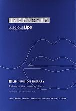 Perfumería y cosmética Mascarilla labial de hidrogel antiedad con ceramidas y extracto de anís estrellado - Infracyte Luscious Lips Anti-Aging Lip Treatment