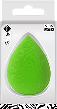 Perfumería y cosmética Esponja de maquillaje, sin látex, color lima - Beauty Look 3D Wild