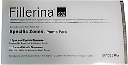 Perfumería y cosmética Set - Fillerina Grade 3+ (gel para labios/7ml + gel para contorno de ojos/15ml)
