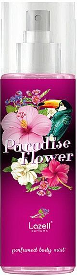 Lazell Paradise Flower - Bruma corporal perfumada con aroma a jazmín, flor de azahar y melocotón