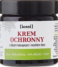 Perfumería y cosmética Crema para rostro y manos con aceite de cáñamo y manteca de karité - Iossi Protective Cream For Face And Hands