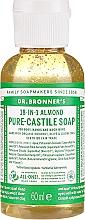 Perfumería y cosmética Jabón líquido orgánico de coco, oliva y jojoba con almedra - Dr. Bronner's 18-in-1 Pure Castile Soap Almond