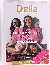 Perfumería y cosmética Set de accesorios para maquillaje - Delia Cosmetics Advent Calendar 2020/2021