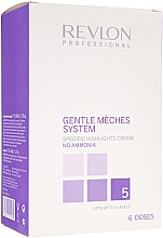 Perfumería y cosmética Crema para mechas aclaradora hasta 5 tonos sin amoníaco - Revlon Professional Gentle Meches System