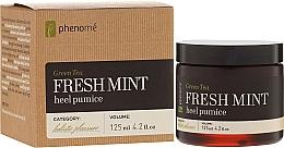 Perfumería y cosmética Pasta espesa de piedra pómez con té verde, cítricos y aceite de menta - Phenome Green Tea Fresh Mint Heel Pumice