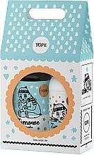 """Perfumería y cosmética Set """"galletas de lima"""" - Yope Zimowe Ciasteczka (bálsamo para manos y cuerpo/300ml + jabón líquido/500ml)"""