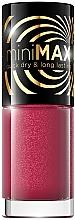 Perfumería y cosmética Esmalte de uñas de secado rápido, larga duración - Eveline Cosmetics Mini Max