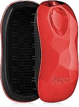 Perfumería y cosmética Cepillo desenredante, rojo-negro - Ikoo Home Black Dragon Lady Red