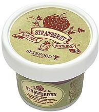 Perfumería y cosmética Mascarilla facial exfoliante con fresas y azúcar negra - Skinfood Black Sugar Strawberry Mask Wash Off