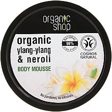Perfumería y cosmética Mousse corporal natural reafirmante con aceite de ylang ylang y neroli orgánico - Organic Shop Body Mousse Organic Neroli & Frangipani