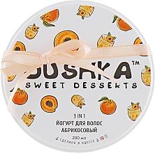 Perfumería y cosmética Champú, mascarilla y acondicionador 3en1 con aceite de jojoba y almendra, aroma a mango - Dushka