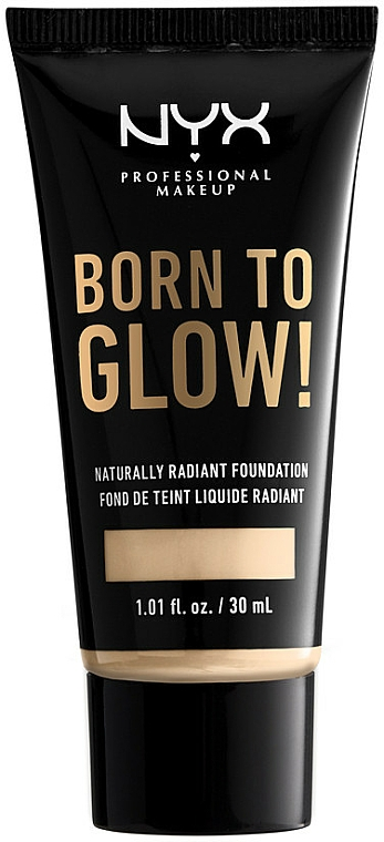 Base de maquillaje fluida - NYX Professional Makeup Born To Glow