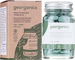 Perfumería y cosmética Pasta dental en tabletas con aceite de árbol de té orgánico - Georganics Natural Toothtablets Tea Tree