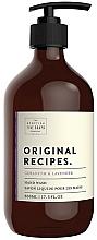Perfumería y cosmética Jabón de manos líquido con aroma a geranio y lavanda - Scottish Fine Soaps Original Recipes Geranium & Lavender Hand Wash