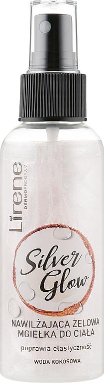 Gel corporal hidratante en spray con agua de coco - Lirene Dermo Program Silver Glow