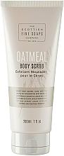 Perfumería y cosmética Exfoliante corporal con extracto de avena - Scottish Fine Soaps Oatmeal Body Scrub
