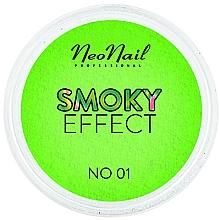 Perfumería y cosmética Polvo de neón para decoración de uñas, efecto smoky - NeoNail Professional Smoky Effect