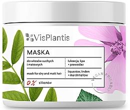 Perfumería y cosmética Mascarilla capilar con extracto de regaliz, tilo y malvavisco, vegana - Vis Plantis Hair Mask