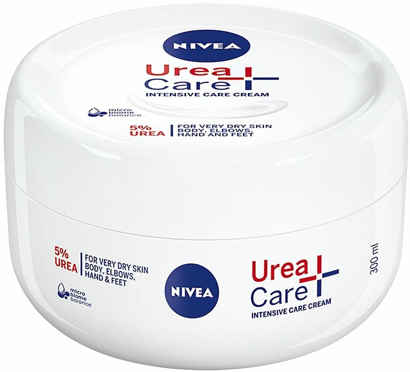 Crema intensiva para cuerpo, codos, manos y pies con 5% urea para pieles muy secas - Nivea Urea Care