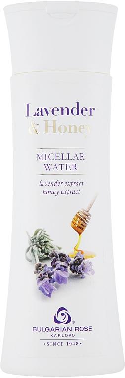 Agua micelar limpiadora con extractos de lavanda & miel para rostro, cuello y escote - Bulgarian Rose Lavender And Honey Micellar Water — imagen N1