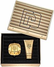 Perfumería y cosmética Paco Rabanne Lady Million - Set (edp/50ml + loción corporal/75ml)