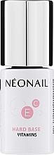 Perfumería y cosmética Base para esmalte semipermanente con vitaminas - NeoNail Professional Hard Base Vitamins