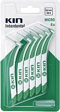 Perfumería y cosmética Cepillos intradentales, 0,9mm, 6uds. - Kin Micro ISO 2