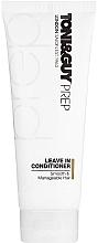 Perfumería y cosmética Acondicionador antihumedad sin aclarado para cabello suave y manejable - Toni & Guy Prep Leave In Conditioner