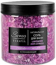Perfumería y cosmética Sales relajantes de baño, Lavanda y camomila - Senso Terapia Lavender Anti-stress