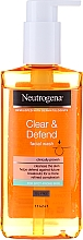 Perfumería y cosmética Gel de limpieza facial con ácido salicílico - Neutrogena Visibly Clear Spot Proofing Daily Wash