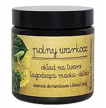 Perfumería y cosmética Mascarilla facial con extracto de tila - Polny Warkocz