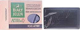 Perfumería y cosmética Jabón corporal hipoalergénico con carbón activado - Bialy Jelen Apteka Alergika Soap